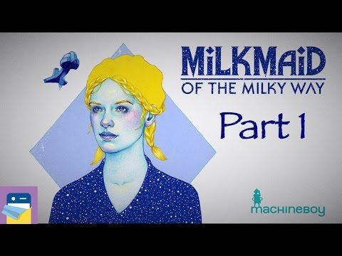 Milkmaid of the Milky Way: Walkthrough Part 1 & iOS iPad Gameplay (by Machineboy)