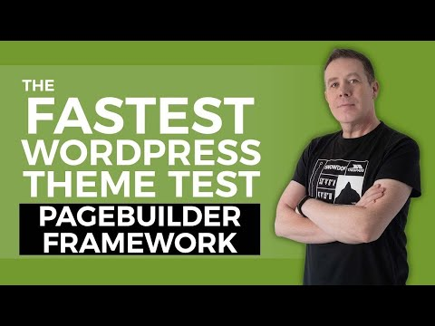 Fastest Theme For WordPress & Elementor? | Page Builder Framework 👍🔥
