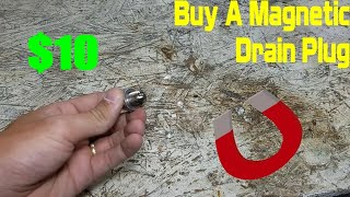 homepage tile video photo for You Need a Magnetic Drain Plug