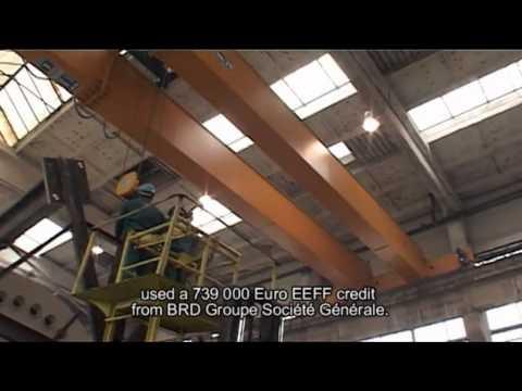 EU EBRD EEFF Movie BRD Beta Buzau Heavy Industry Welding Press Furnace