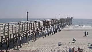 Preview of stream Sunset Beach Pier Webcam