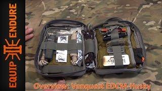 Vanquest Edcm Husky: Edc Maximizer™ Organizer Overview By Equip 2 Endure