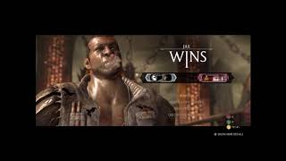 Mortal KombatX : JAX(wrestler) vs Liu Kang(dualist)