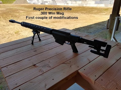 300 Win Mag Ruger Precision Rifle (Part 1 set up) 06/06/2019