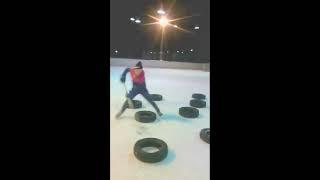 Дриблинг на льду
