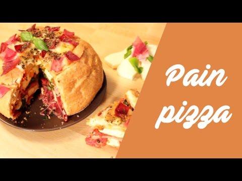 la-recette-du-pain-garni-façon-pizza-!