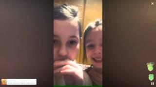Дочь Началовой тайно вышла в Перископ / Перископ Началовой 2016 на TopPeriscope.Ru
