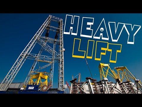 ST³ Offshore Heavy Lift Van Haagen Krann 1,400 Tons Suction Bucket Jacket