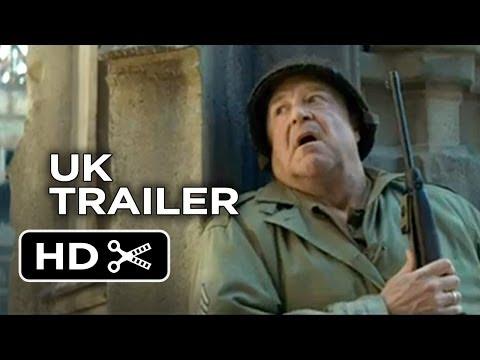 The Monuments Men Official UK Trailer (2014) - John Goodman, Bill Murray Movie HD