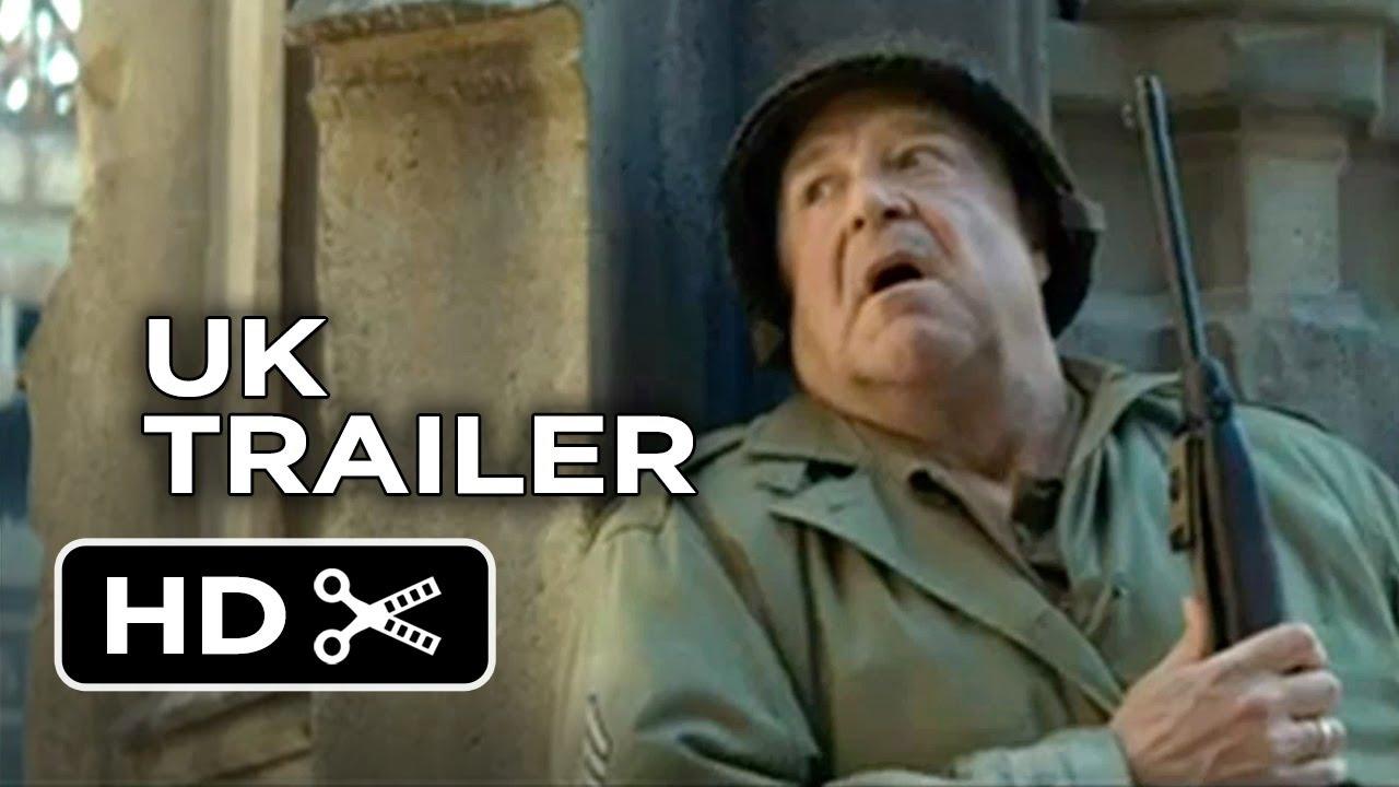 Download The Monuments Men Official UK Trailer (2014) - John Goodman, Bill Murray Movie HD