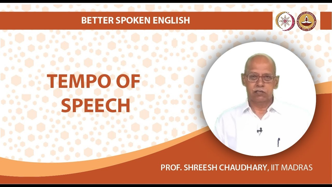 Tempo of Speech