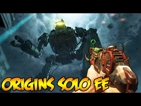 ORIGINS EASTER EGG SOLO - BLACK OPS 2 ZOMBIES EASTER EGG GAMEPLAY! (BO2 Zombies)
