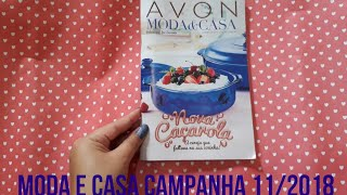 Catálogo Moda e Casa Campanha 11/2018   AVON