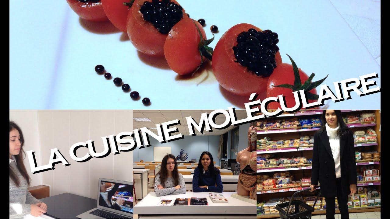 tpe 1ère s i la cuisine moléculaire - youtube