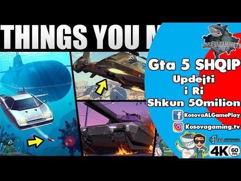GTA 5 SHQIP - UPDEJTI MA I RI - I HARGJUM 50Milion KERI QE FLUTURON PLUS JACKPAT