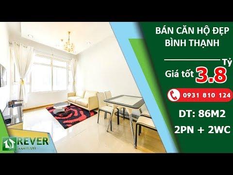 Bán căn hộ Saigon Pearl quận Bình Thạnh, diện tích 86m2 với 2 phòng ngủ 2wc | Rever