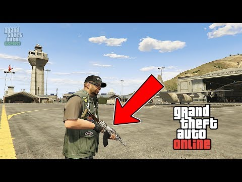 GTA ONLINE GUNRUNNING DLC WEAPONS CUSTOMIZATION, NEW ARMY WEAPONS (GTA 5 MILITARY DLC)