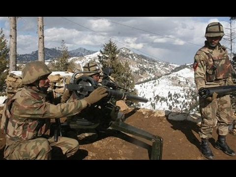 Massive Fire Exchange between Pakistani & Indian forces at Kashmir LOC