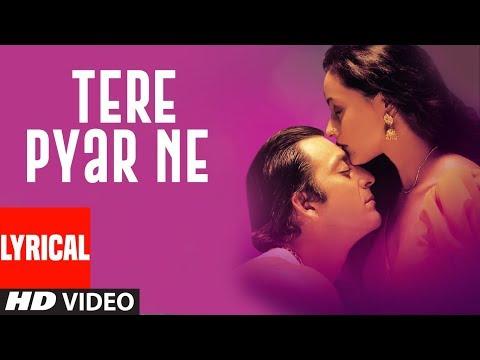Tere Pyar Ne (Female Version) Lyrical Video | Vaastav:The Reality | Sanjay Dutt,Namrta Shirodkar