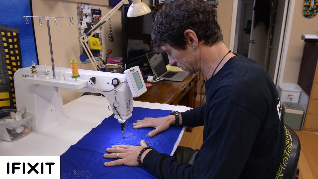 sewing machine repair with rob appell from mansewingcom