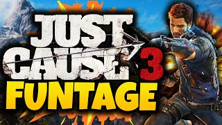 One of TheGamingLemon's most viewed videos: Just Cause 3: Funtage! - (JC3 Funny Moments Gameplay)