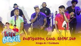 Rodriguinho, Gaab, Ah!Mr.Dan - Xinga Aí / Cuidado (Legado Ao Vivo na FM O Dia)