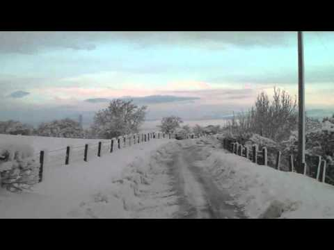 Heavy snow - Central Scotland November 2010