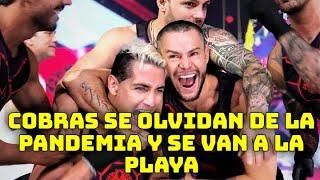 Cobras se van a la playa se olvidan de la situación en México / Guerreros 2020