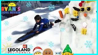 legoland snow days family fun amusement park for kids giant lego children play center