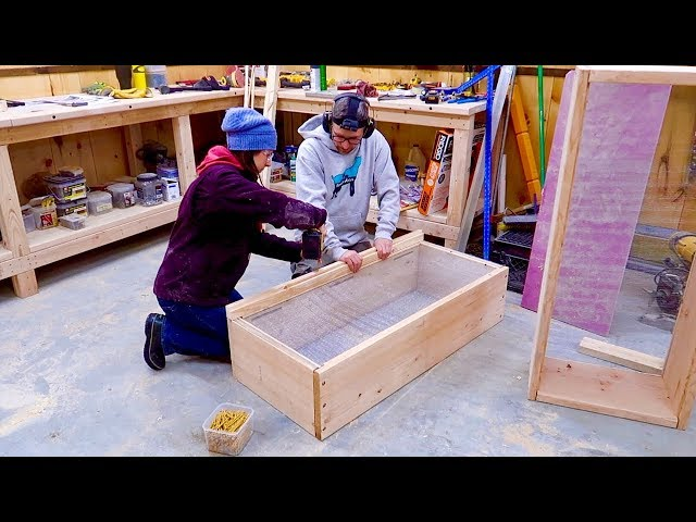 We've Never Built Anything like THIS! Building Bee HIVES for the BEEs Ordered OFF the INTERNET