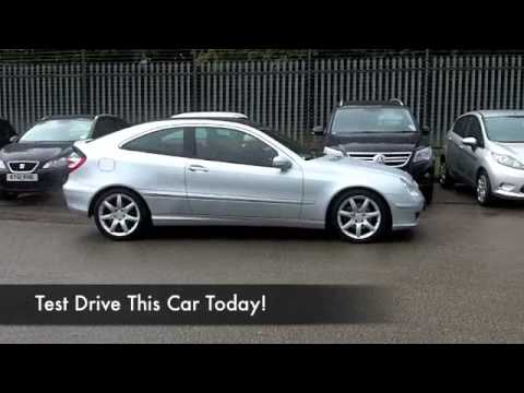 Mercedes benz c class sport coupe 2006 c200k evo panorama se 3dr auto bn56ozb youtube - Mercedes benz c class sport coupe ...