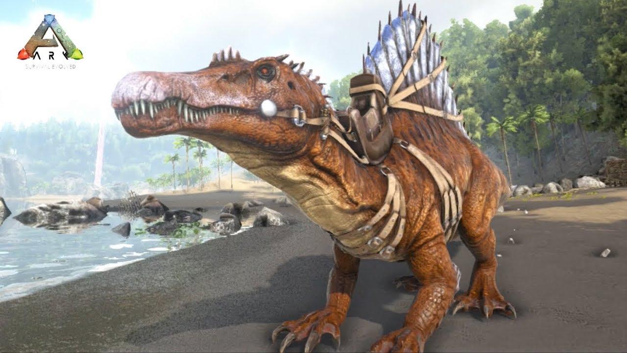 アーク スピノサウルス