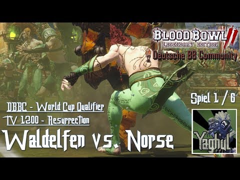 [Bloodbowl 2] Worldcup Cyanide 2018 - DBBC Qualifier - Woodies TV 1200 - Spiel 1 thumbnail