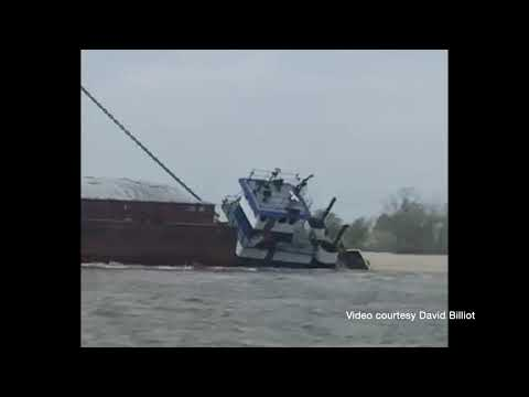 Towing Vessel Michelle Ann Sinks Near Baton Rouge, LA
