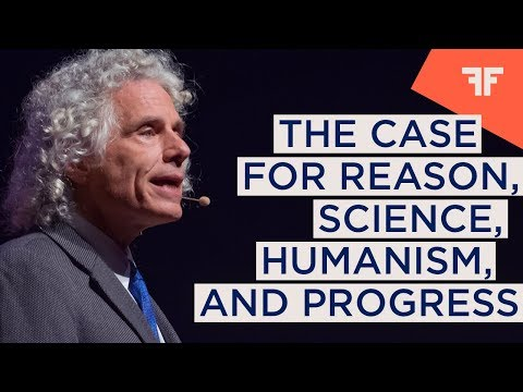 STEVEN PINKER | THE CASE FOR REASON, SCIENCE, HUMANISM, AND PROGRESS  |  OFFinNY