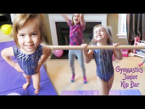 Tumbl Trak Gymnastics Junior Kip Bar!