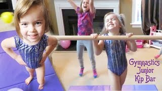 Tumbl Trak Gymnastics Junior Kip Bar!