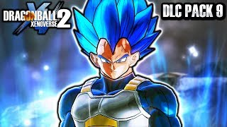 NEW EVOLUTION BLUE VEGETA DLC PACK 9 LEAK! Dragon Ball Xenoverse 2 Vegeta Blue Evolution DLC Skills