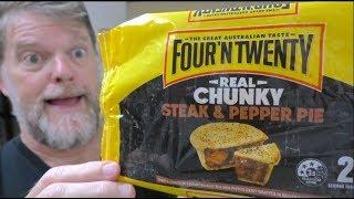 Four N Twenty &#39Real Steak&#39 Meat Pie Review - Steak and Pepper Pie