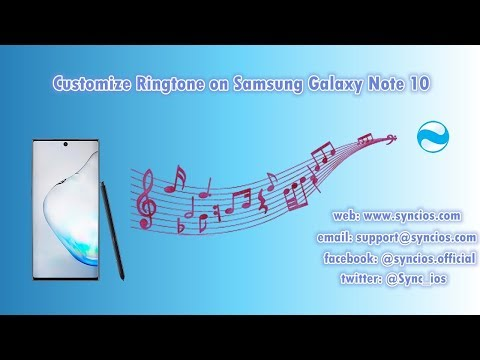 How To Set Custom Ringtone On Samsung Galaxy Note 10/10+