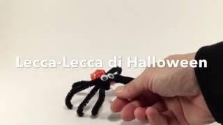 Halloween ragni lecca lecca fai da te . Idea creativa per bambini a...