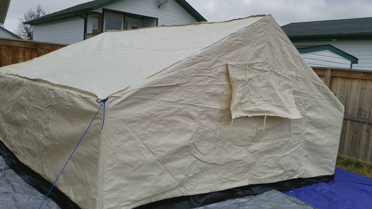 Grizzly Canvas Outfitter wall tent 14x16 : grizzly tents - memphite.com