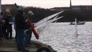 RC Yachts part 2 Fleetwood's IOM  West Lanc's 27 12 2016