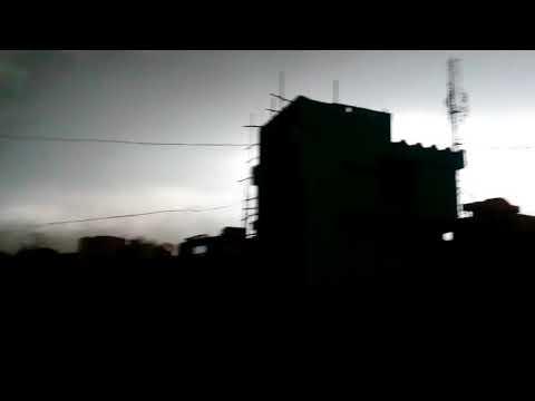 Suman Gurung video Thunderstorm, Dark in Day, Jamshedpur Tata Nagar