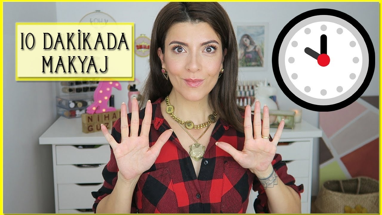10 dakikada makyaj nasıl yapılır