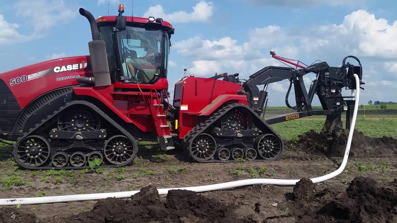 bron 750 plow quadtrac youtube