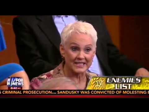 Ginny Rapini Of The Norcal Tea Party Appears On Hannity