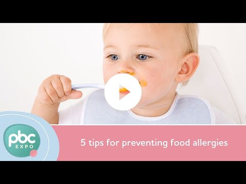 Pregnancy and breastfeeding nutrition: 5 tips for preventing food allergies