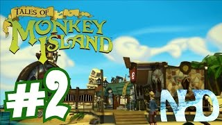 Tales of Monkey Island Chapter 1 - Launch of the Screaming Narwhal (pt2) Flotsam Island