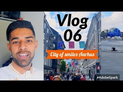 Vlog 06: Guide tour in City of Smiles, Aarhus!